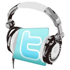 Twitter con auriculares