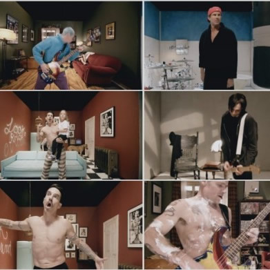 El vídeo interactivo de Red Hot Chili Peppers