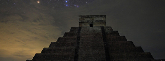 'Orion over El Castillo', de Stéphane Guisard