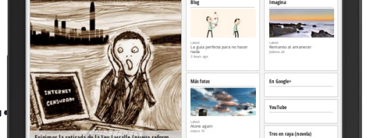 Mangas Verdes, en Google Currents