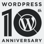 10º aniversario de WordPress